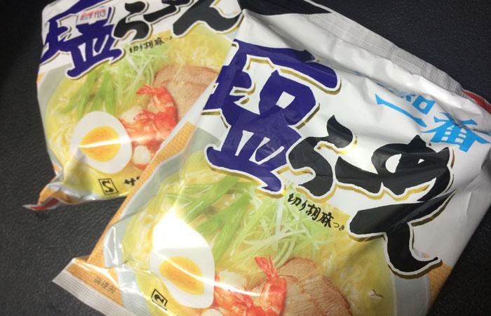 Instant Ramen – Sapporoichiban Shio Ramen