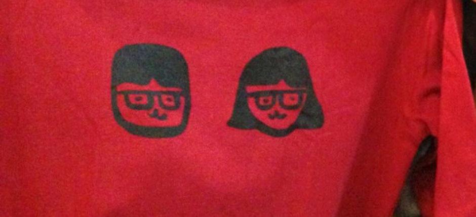 "Making Tshirts by myself with ""Tshirts-kun"""
