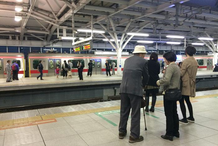 shakujii station
